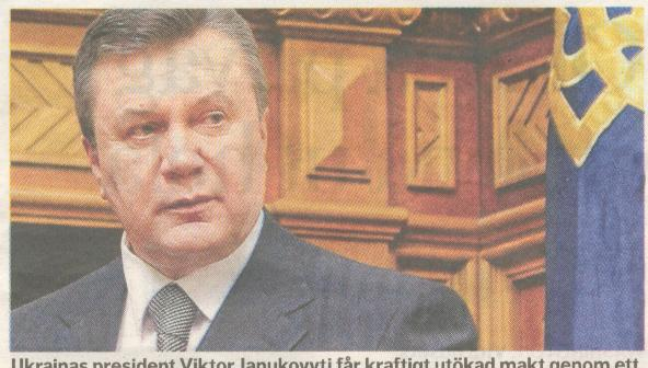 president janukovitj